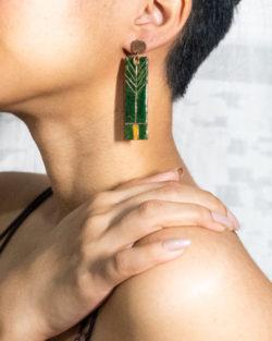 Prairie stud earring by Ekibeki