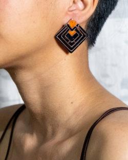 Diamond stud earring by Ekibeki