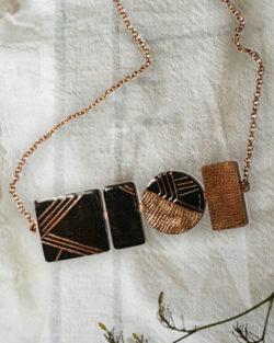 Suntop necklace by Ekibeki